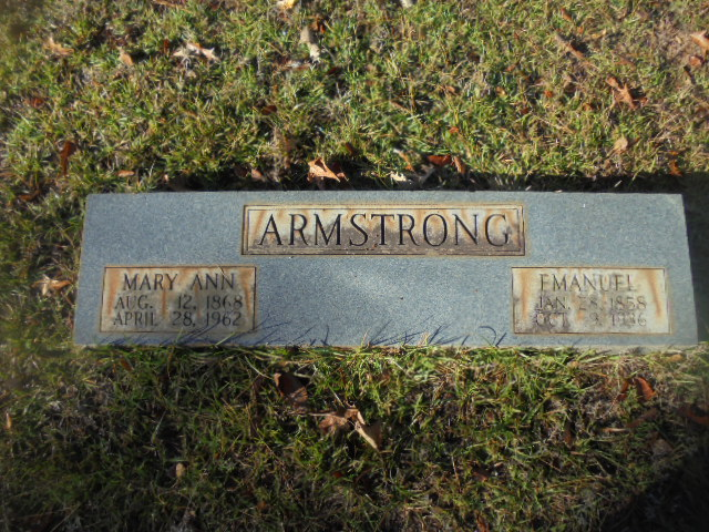 Mary Ann <i>Freeze</i> Armstrong
