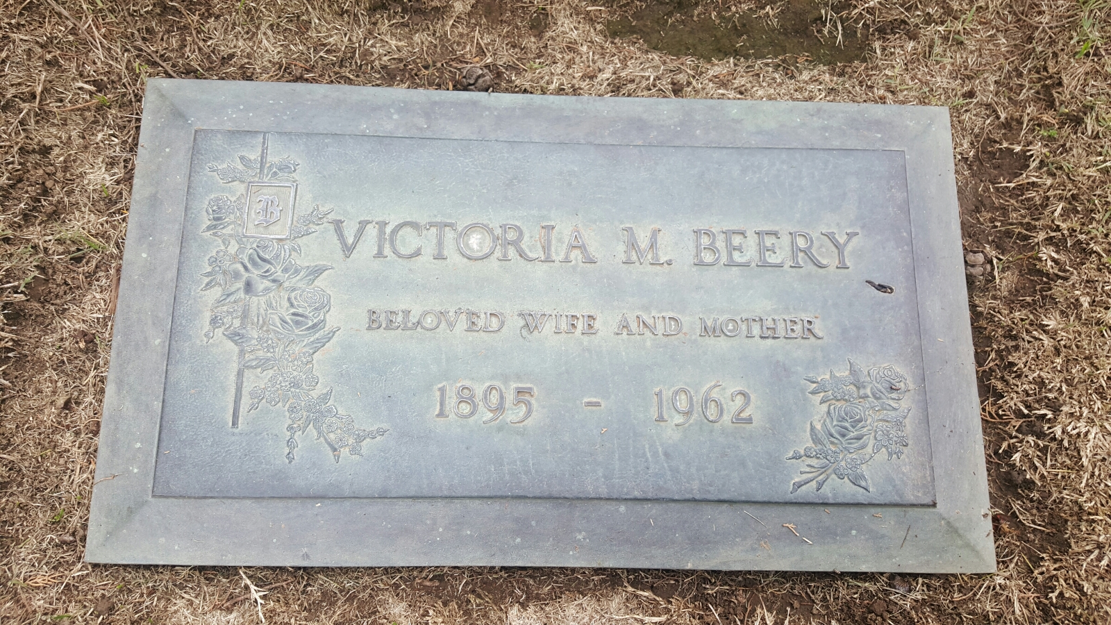 Victoria Marguerite <i>Strong</i> Beery