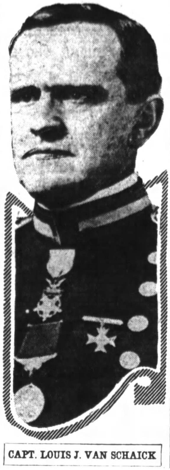 Col Louis Joseph Van Schaick