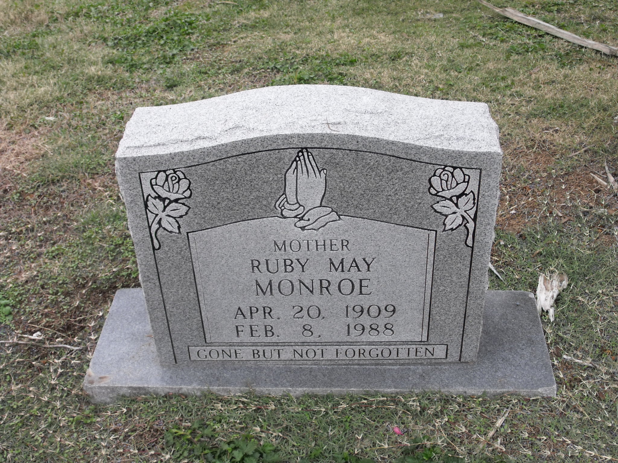 Ruby May <i>Reynolds</i> Monroe