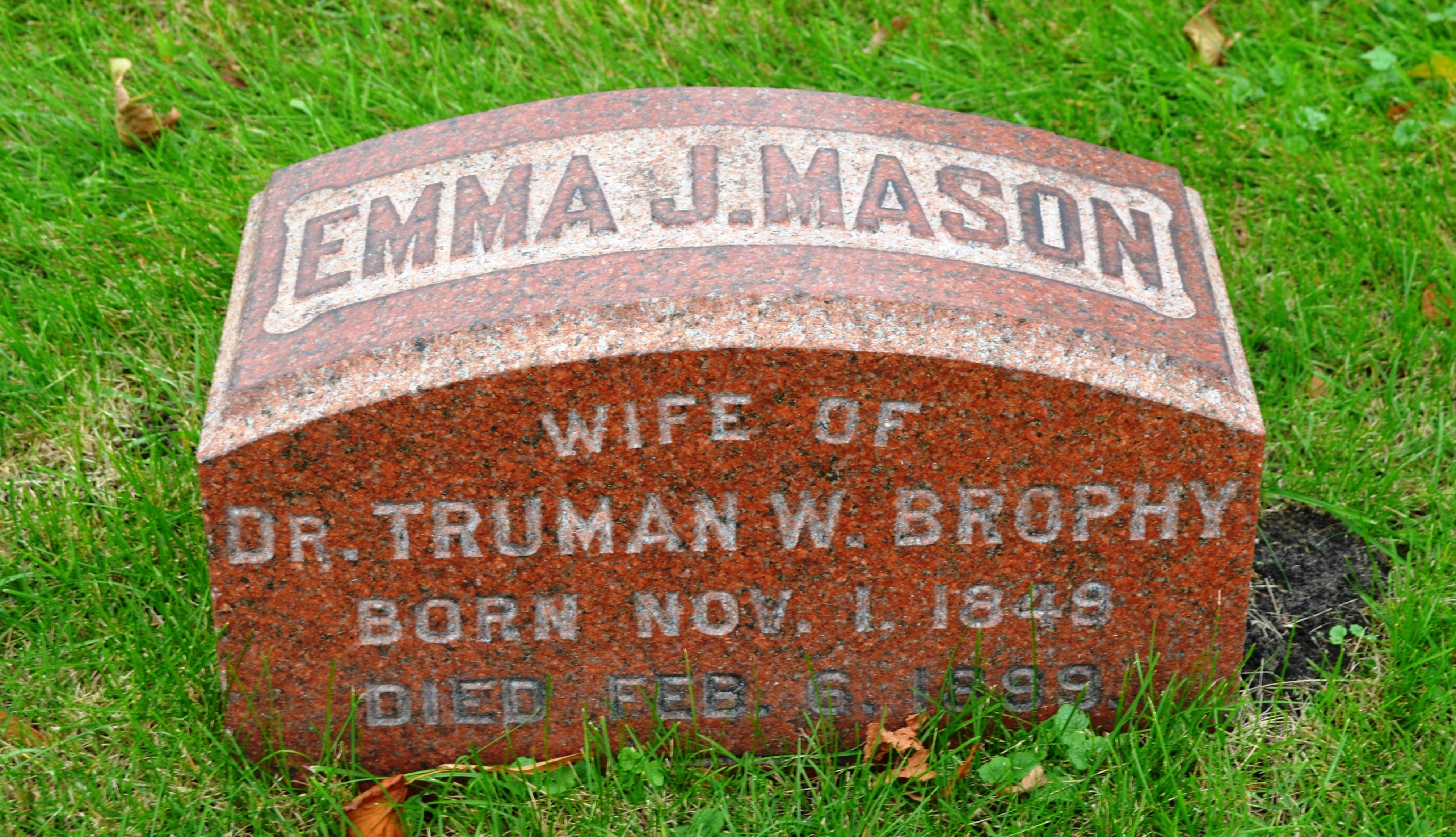 Emma Jean <i>Mason</i> Brophy