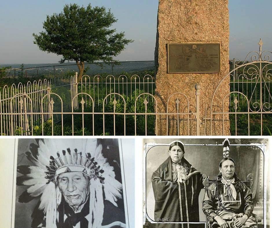 Chief Frederick Wa-no-zhi-n-ga Lookout