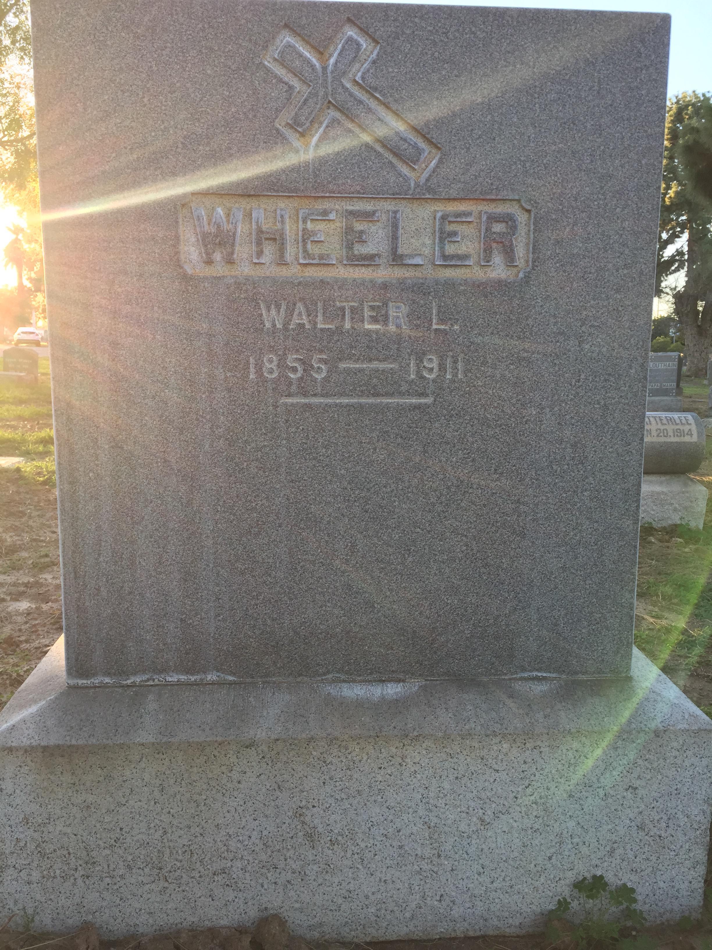 Walter Lyman Wheeler