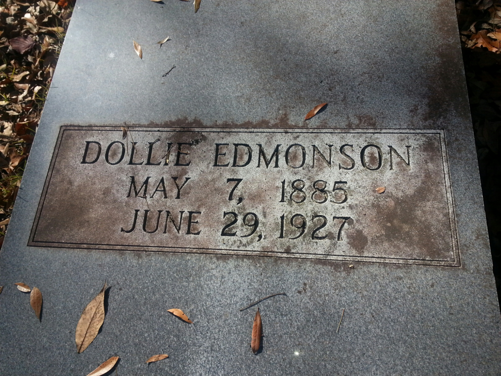 Dollie Virginia <i>Edmondson</i> Edmondson