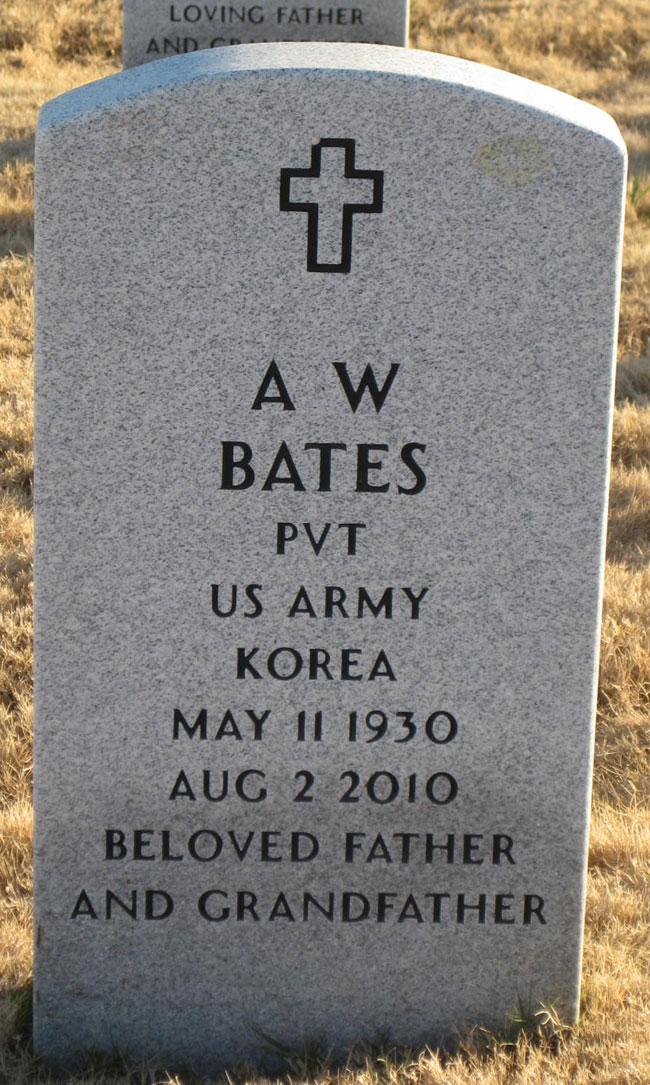 A W Bates