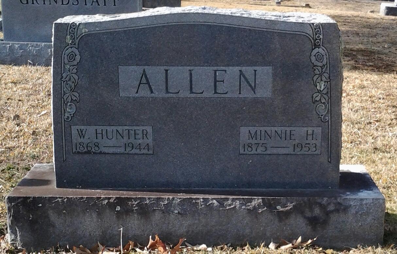 Permelia Minerva Minnie <i>Hyder</i> Allen