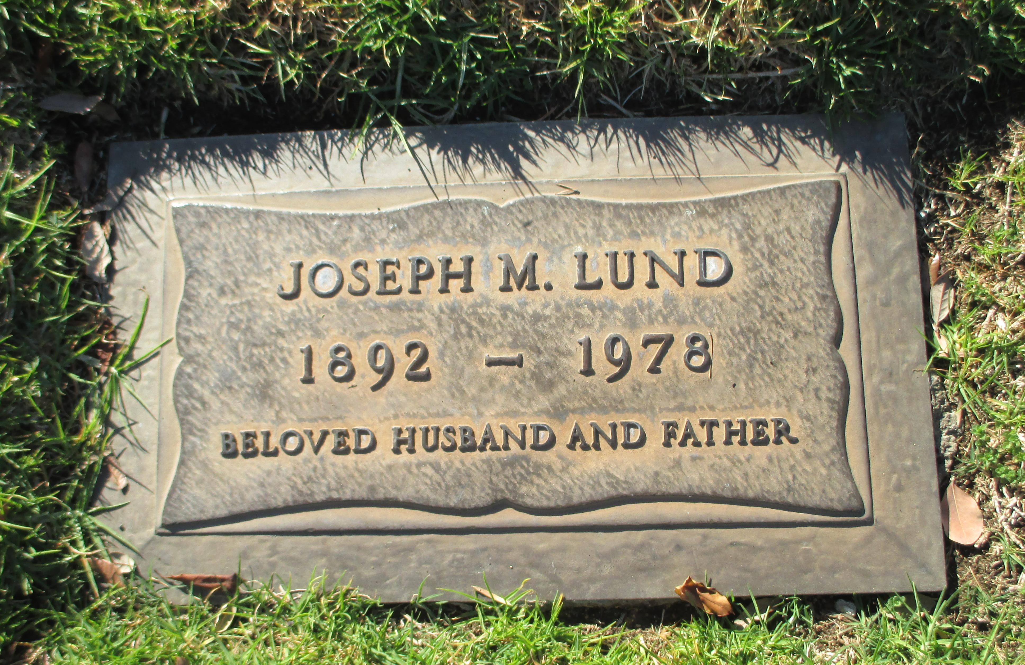 Joseph Melvin Lund