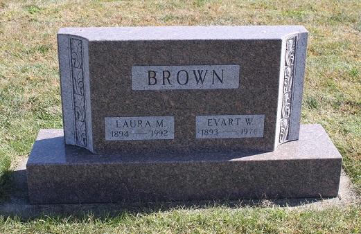 Laura M. <i>Earhart</i> Brown