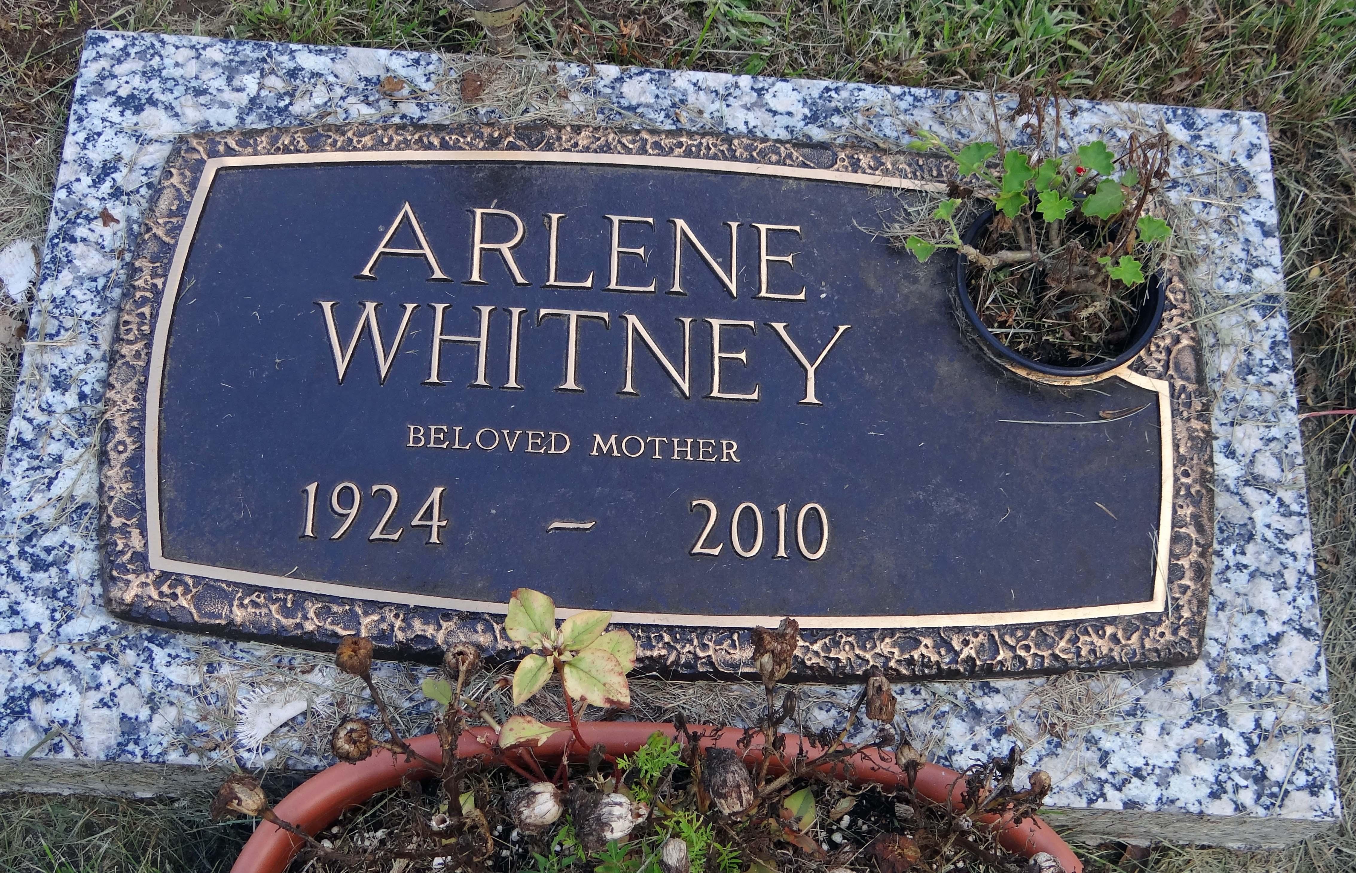 Arlene <i>Howard</i> Whitney