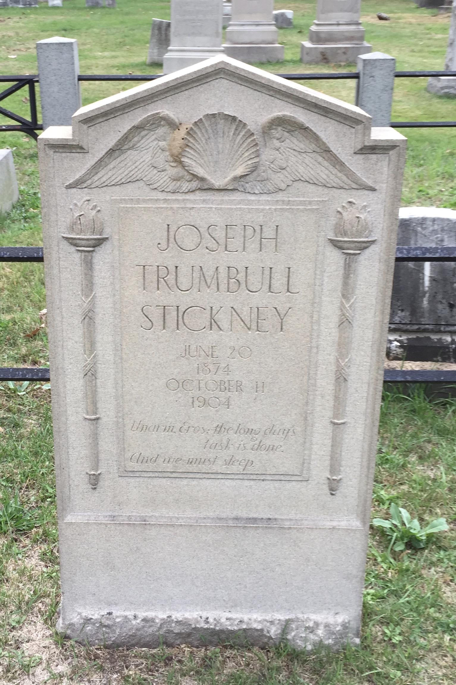 Trumbull Stickney mnemosyne