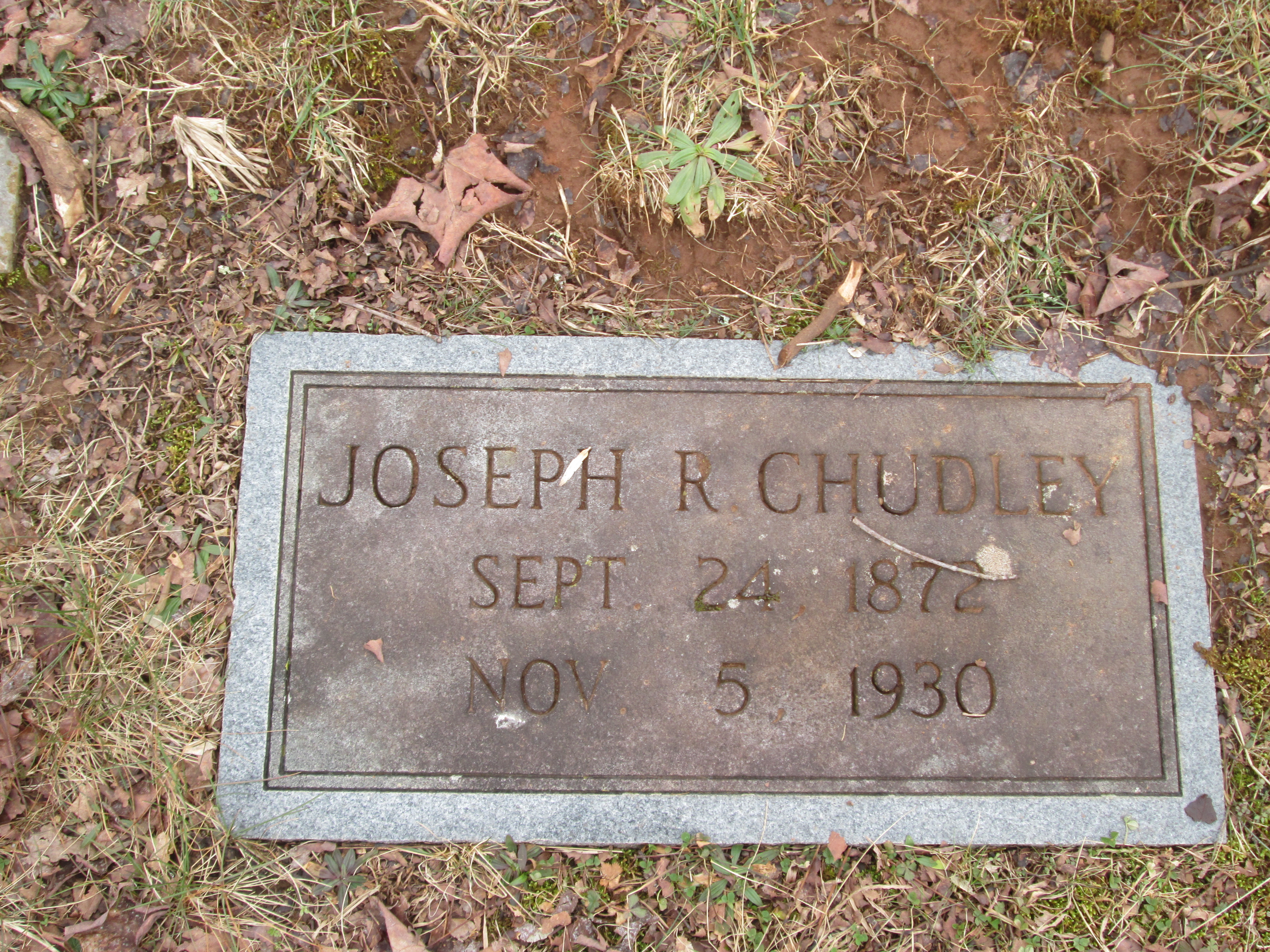 Joseph Rule Chudley