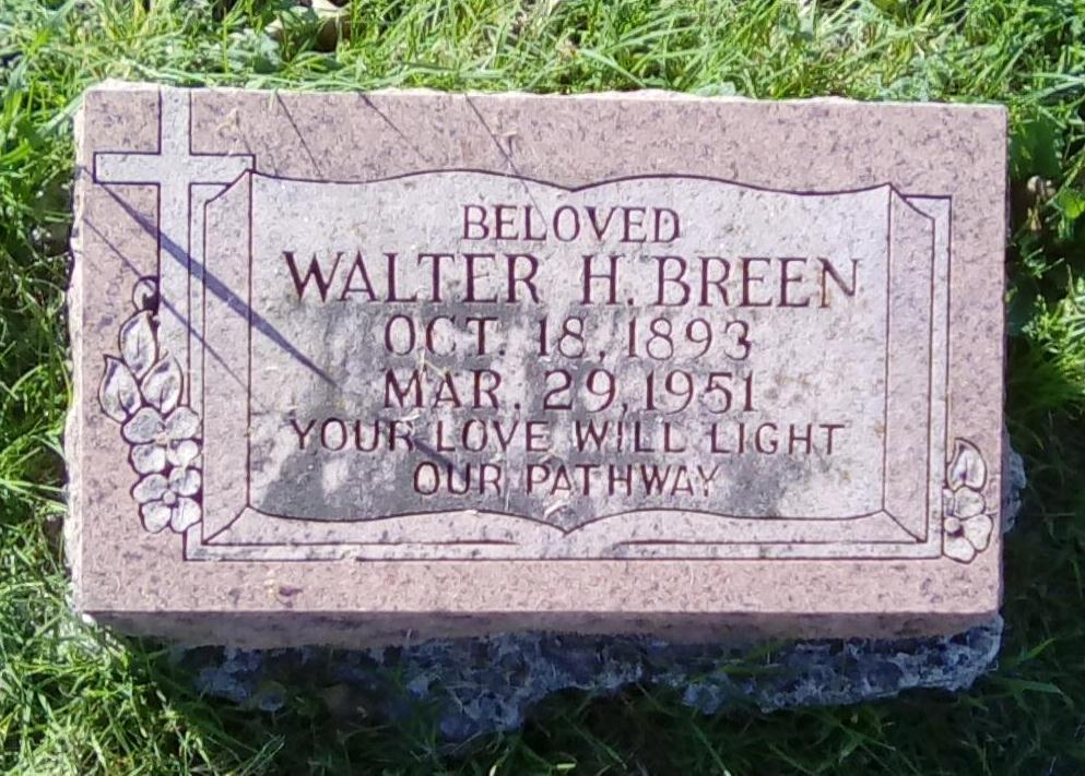 Walter H. Breen (1893-1951) - ...