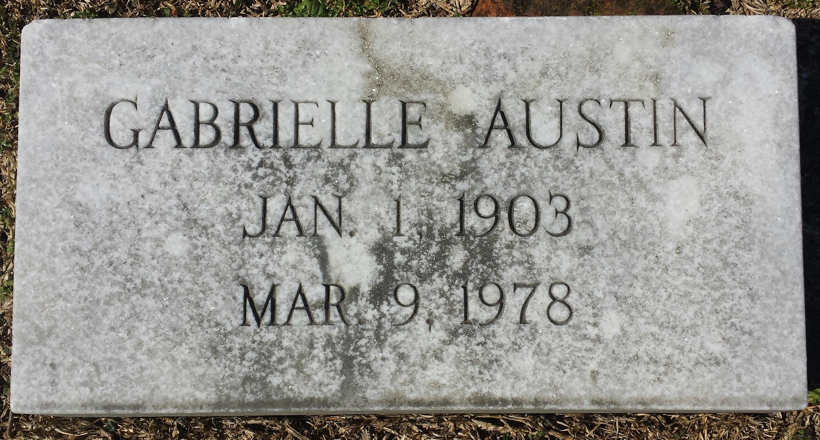 Gabrielle Austin