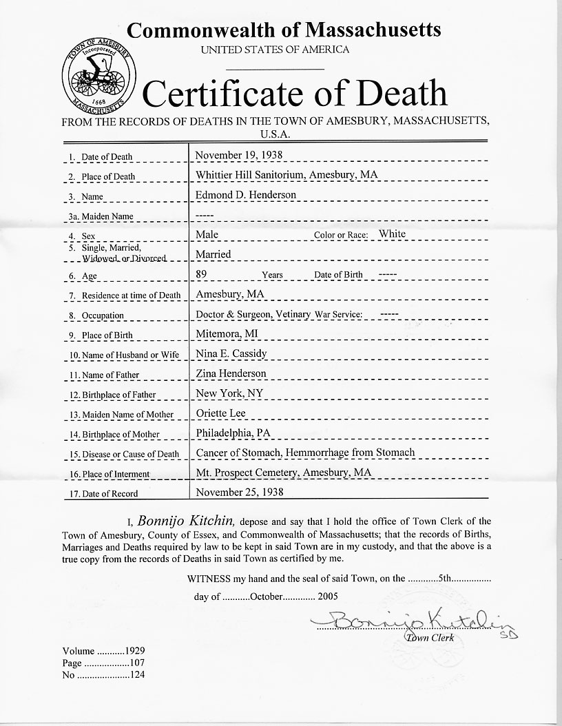 Edmond david henderson 1849 1938 find a grave memorial edmonds death certificate xflitez Choice Image