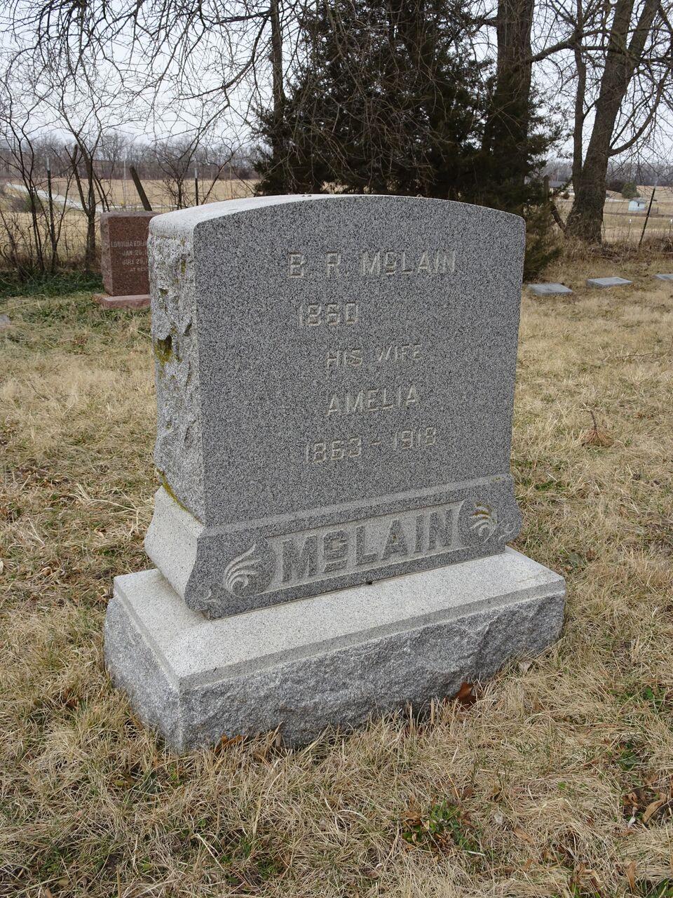 """Benjamin R  """"B  R """" McLain (1860-1943) - Find A Grave Memorial"""