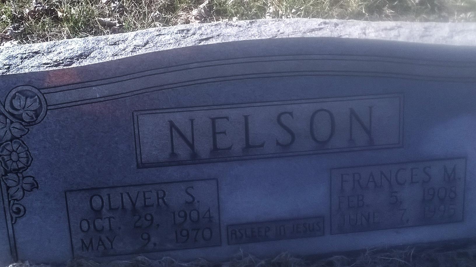 Oliver S Nelson