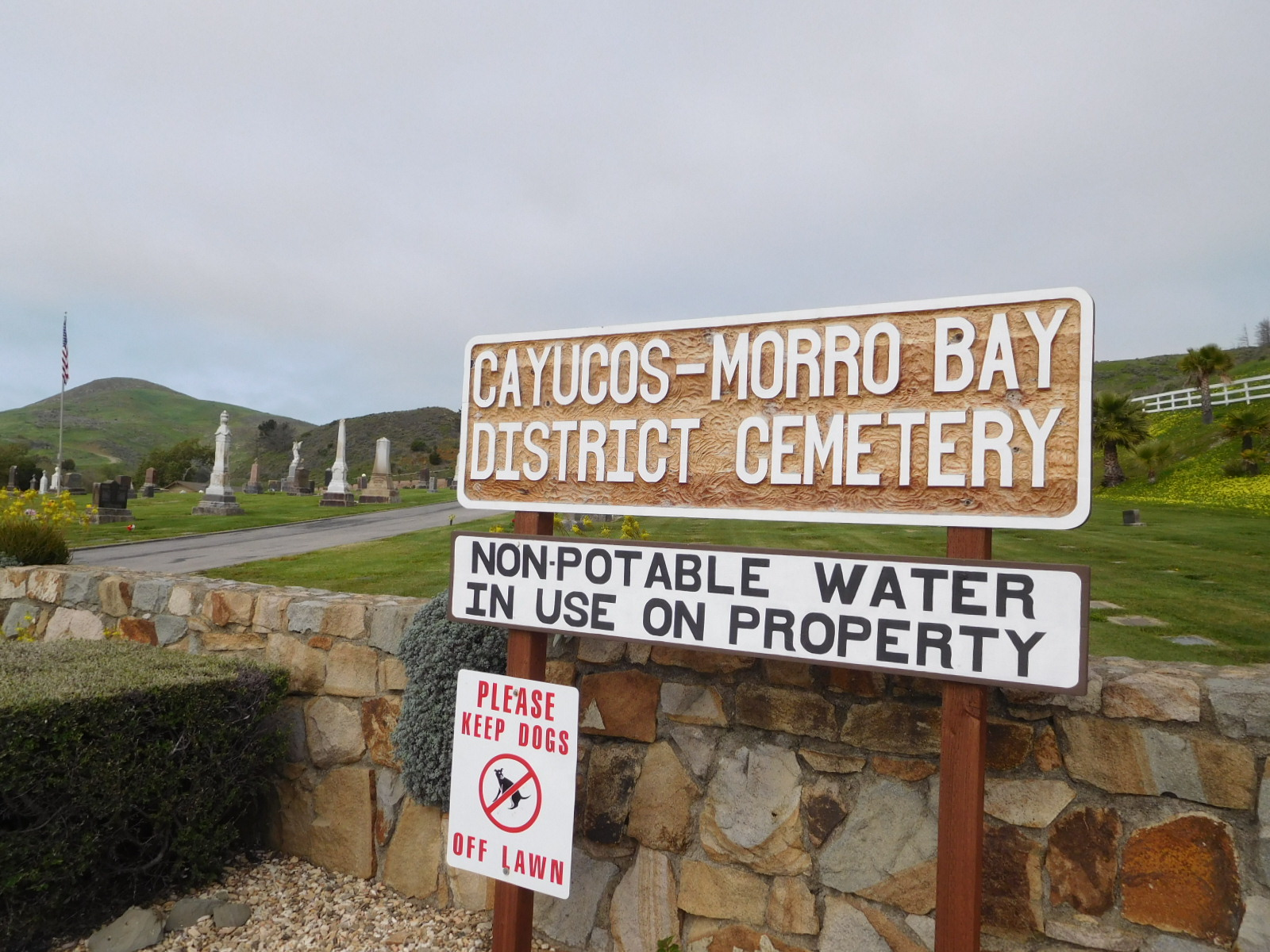 Cayucos-Morro Bay District Cemetery