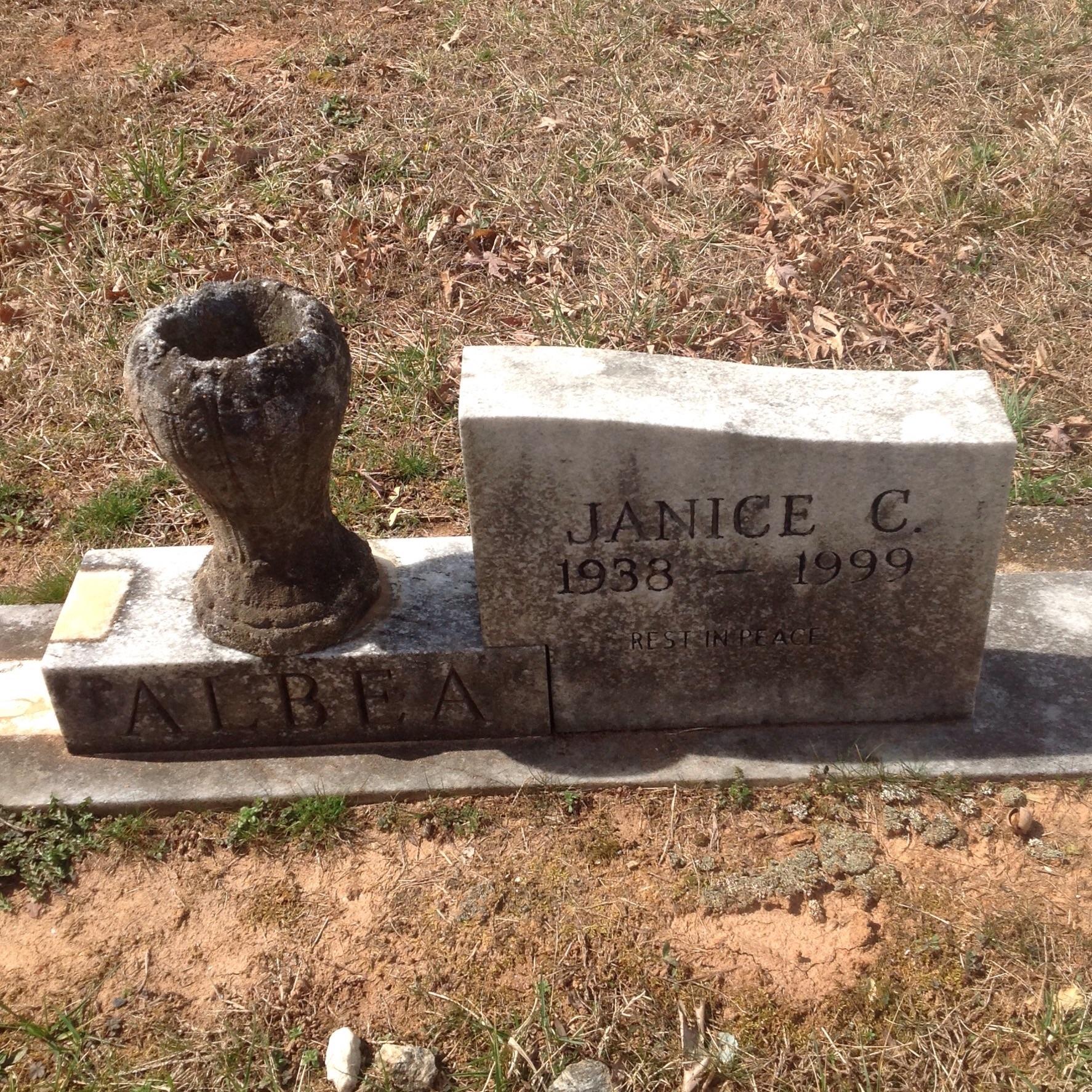 Janice Lee <i>Coe</i> Albea
