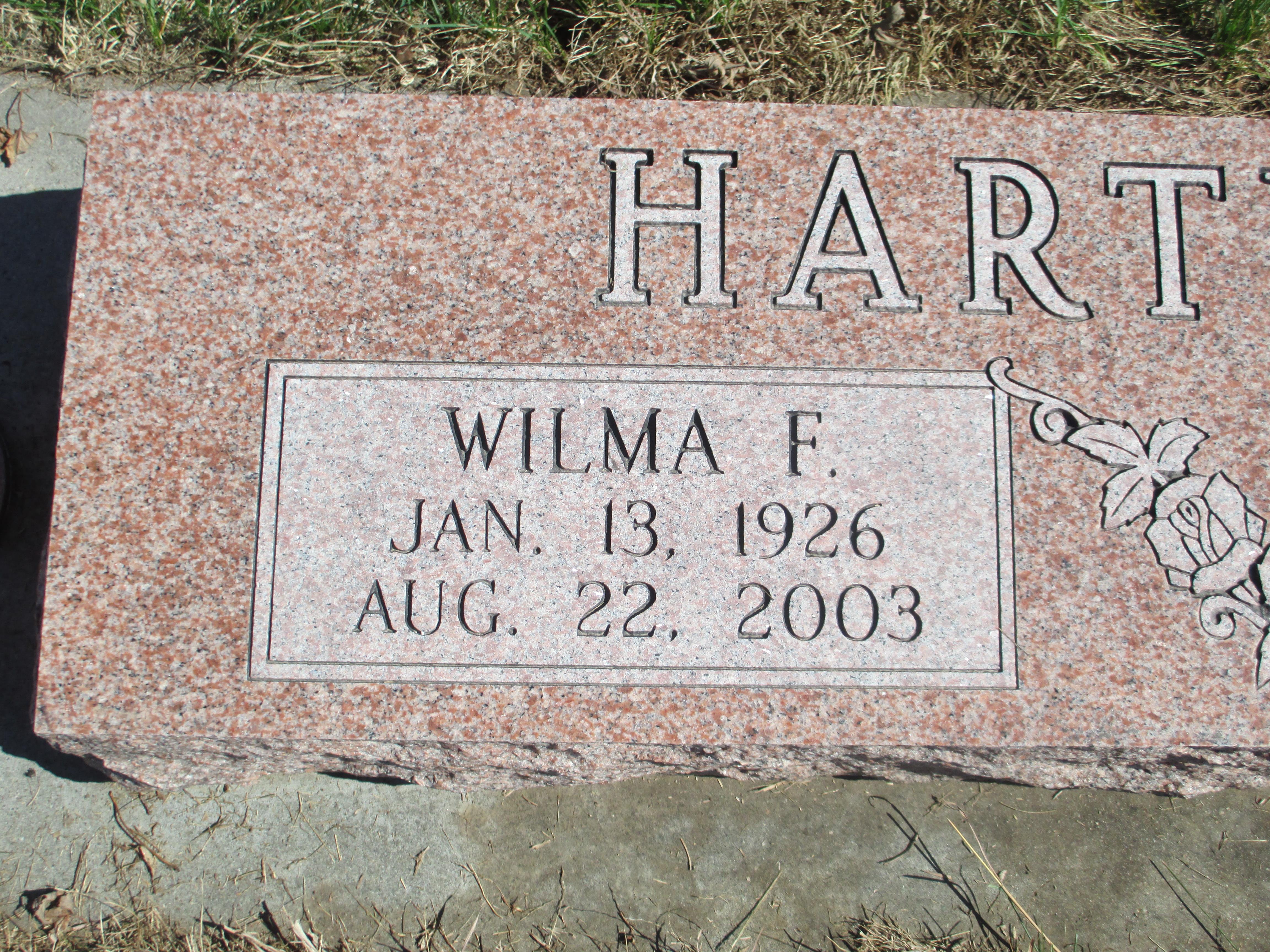 Wilma Fern <i>Sherman</i> Hartwig