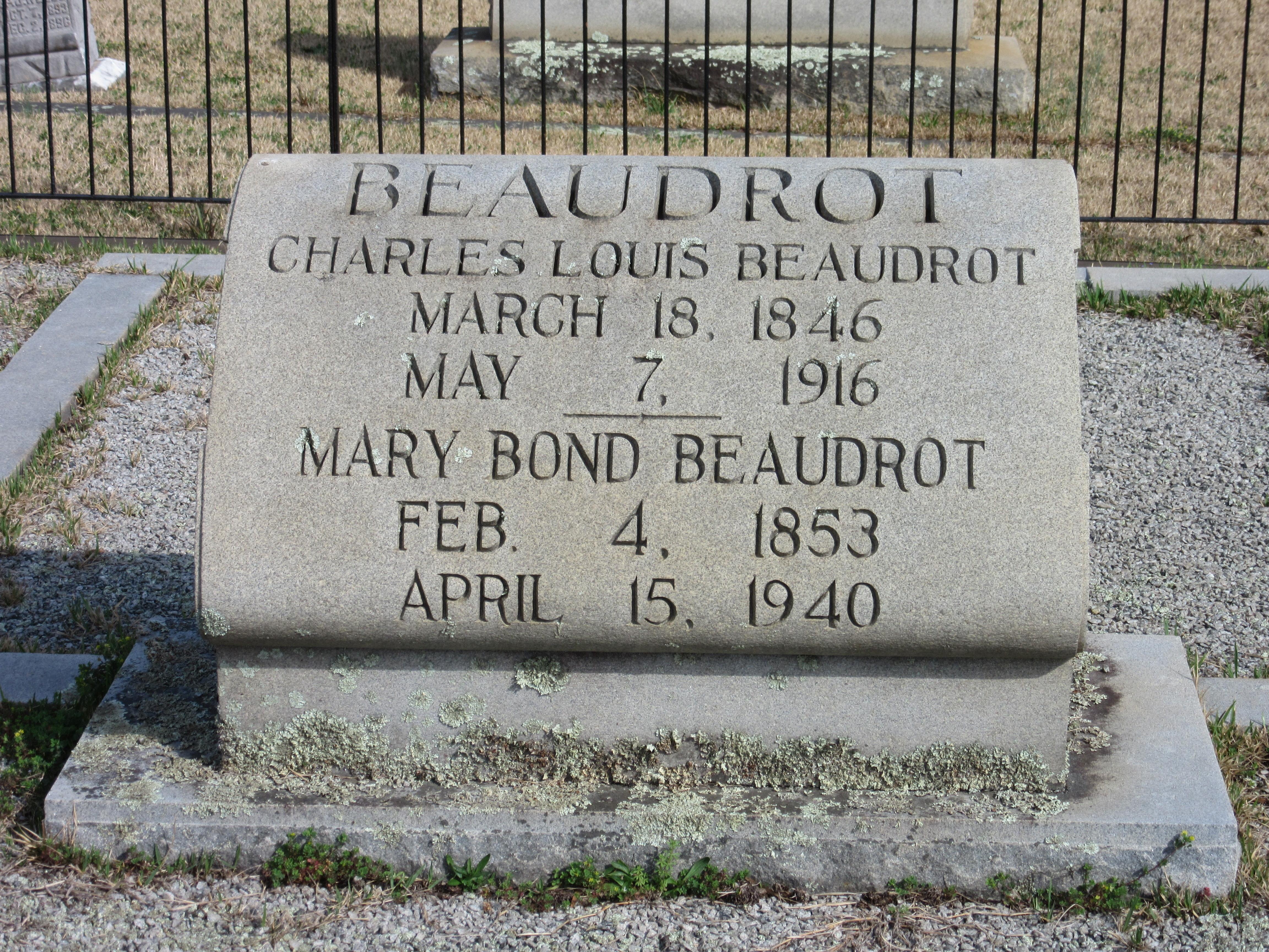 Mary Amelia <i>Bond</i> Beaudrot
