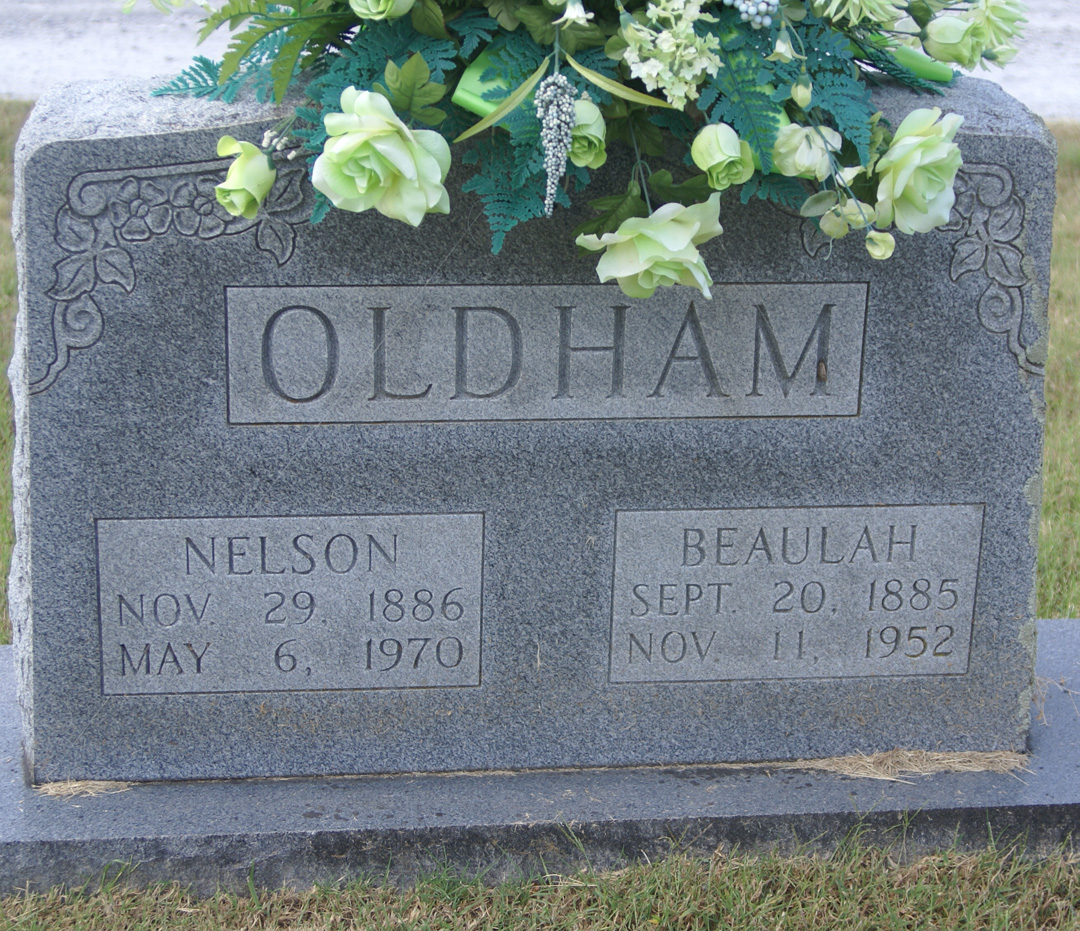 Sam Nelson Oldham (1886-1970) - Find A Grave Memorial