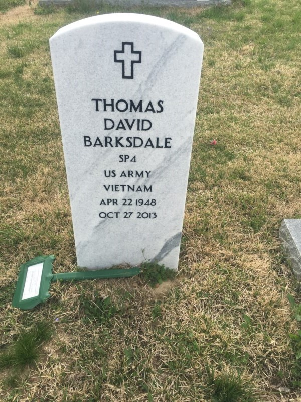 Thomas David Barksdale (1948-2013) - Find A Grave Memorial