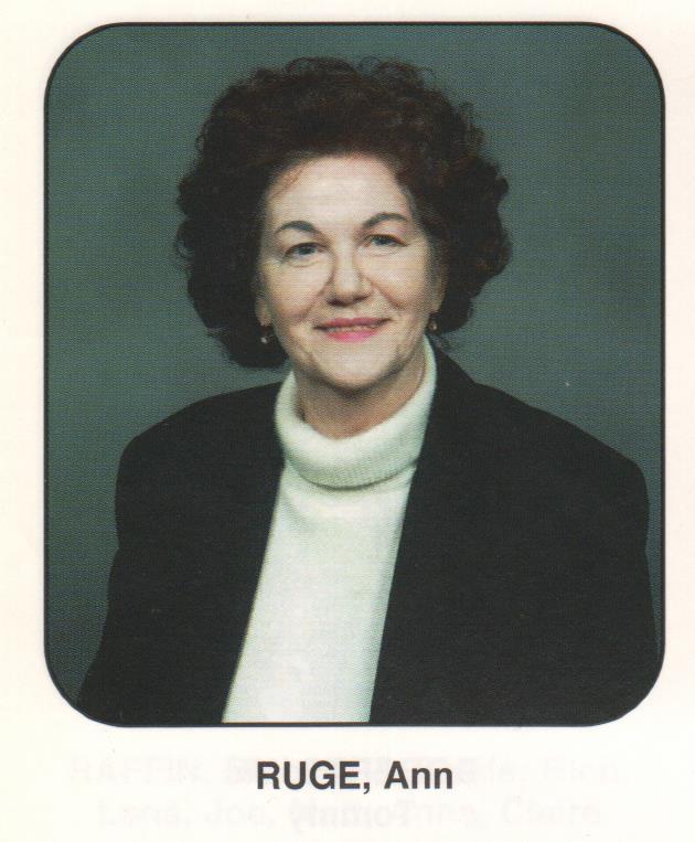 Ann <i>Fitzgerald</i> Ruge