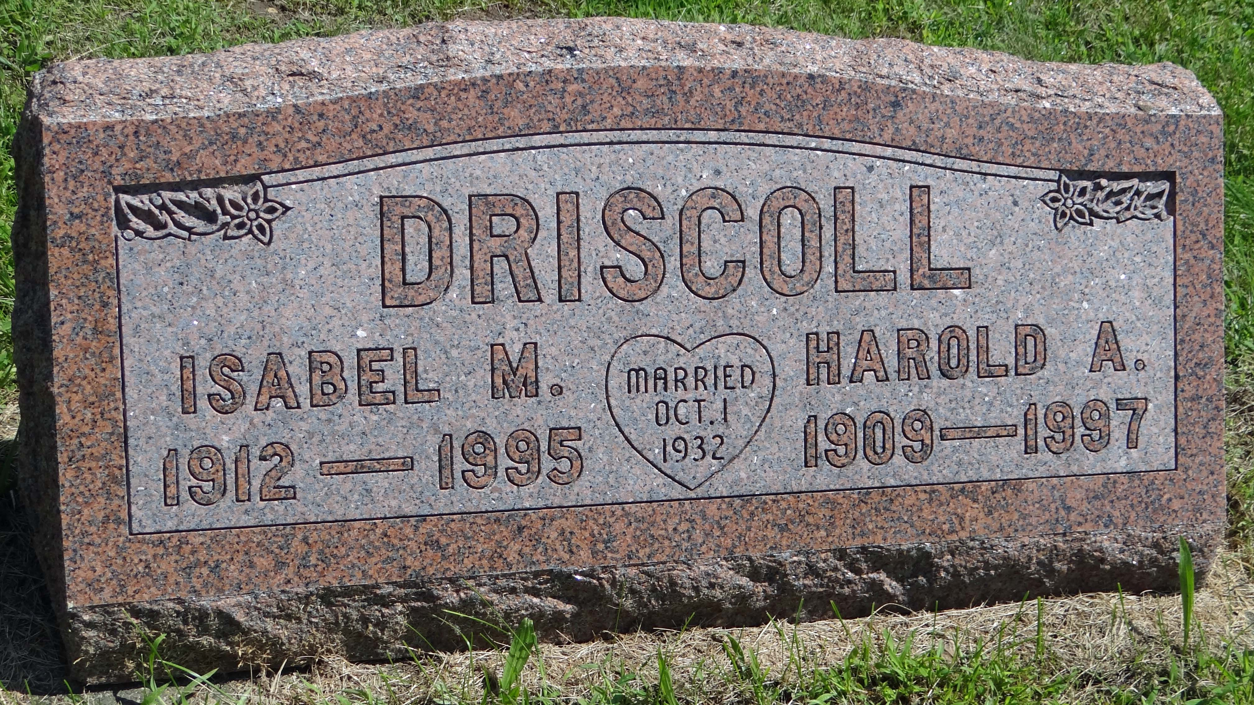 Isabel Marie <i>Tracey</i> Driscoll