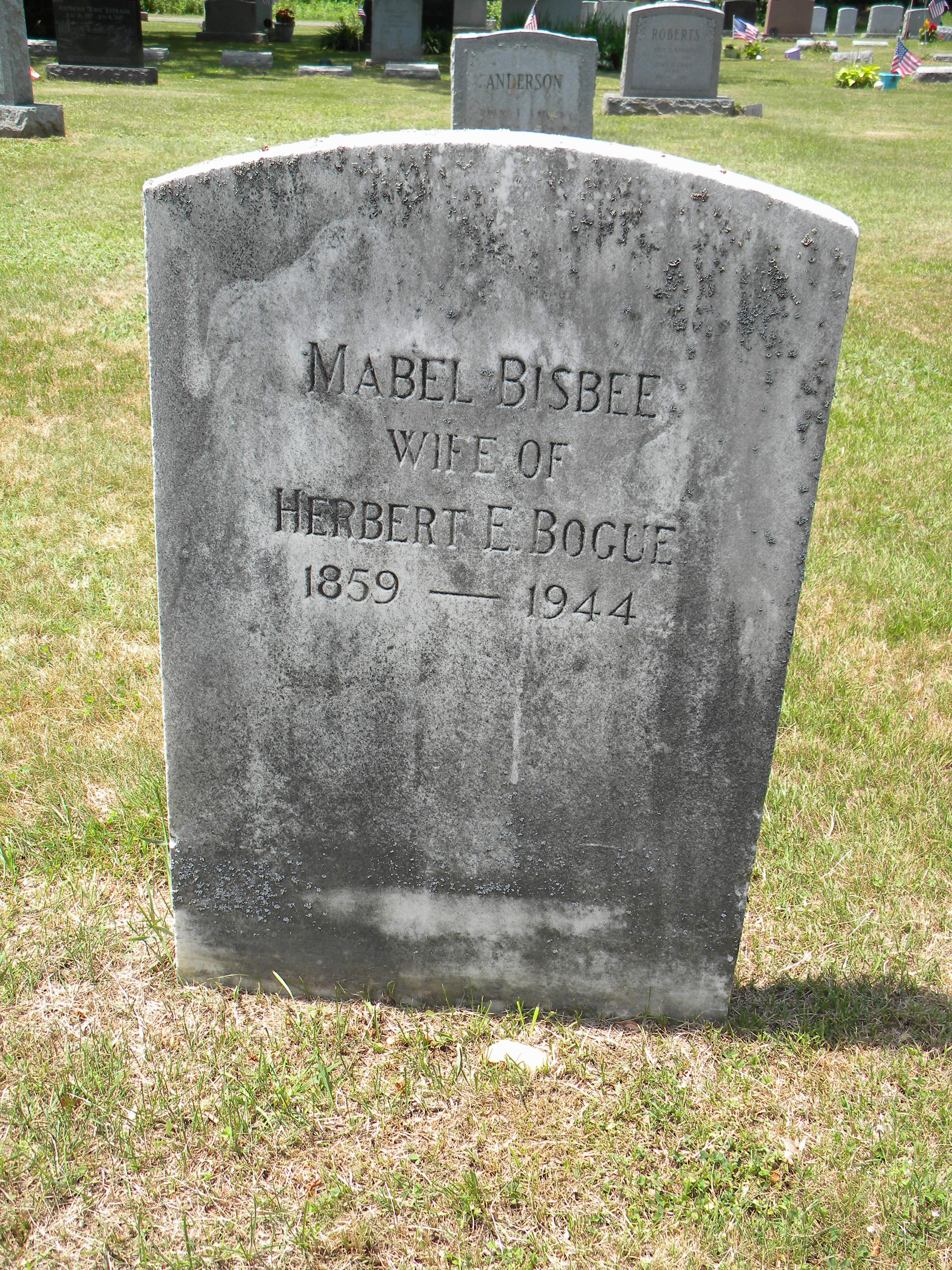 Mabel <i>Bisbee</i> Bogue
