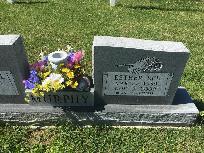 Esther Lee Tiny <i>Achord</i> Murphy