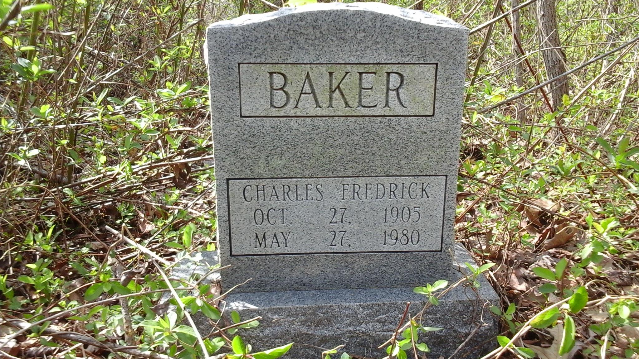 Charles Fredrick Baker