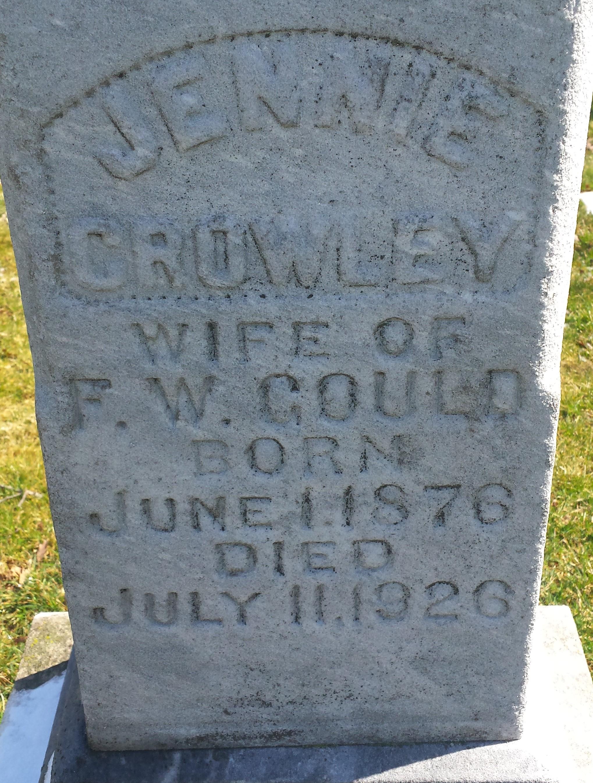 Jennie <i>Crowley</i> Gould
