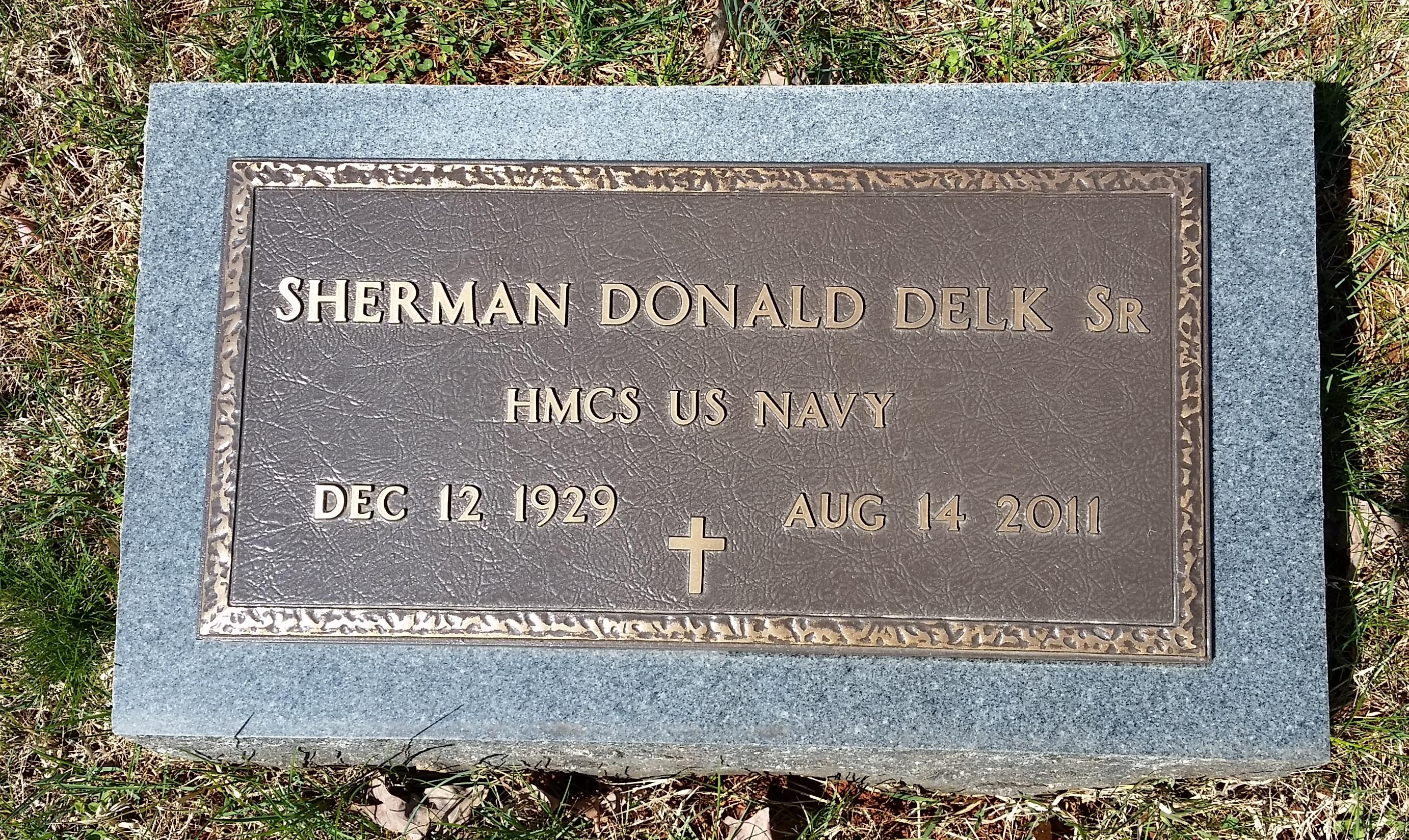 Sherman Donald Delk, Sr