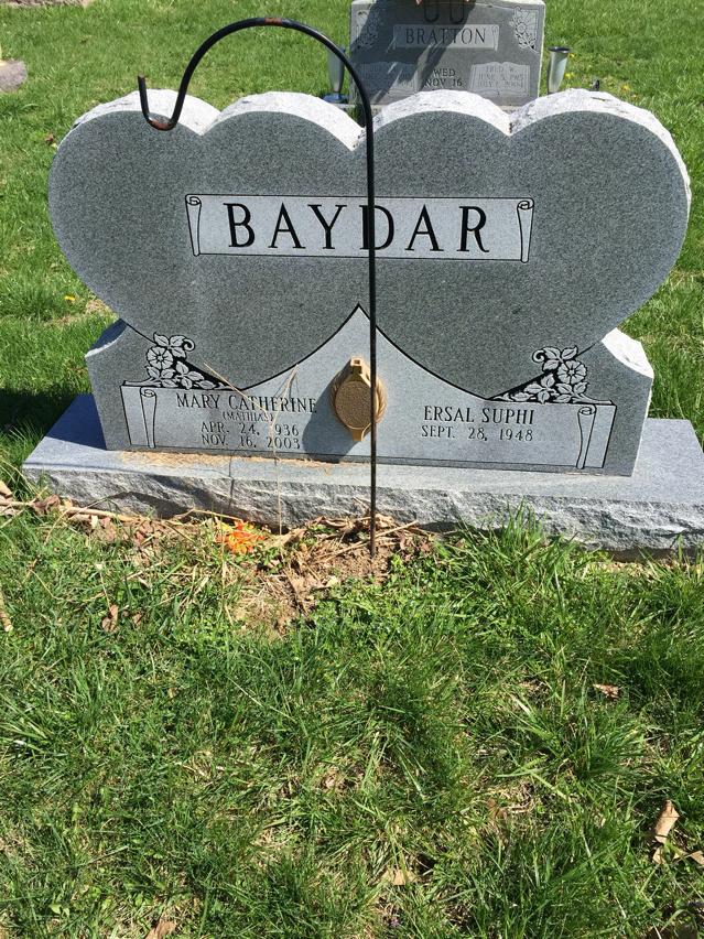 Mary Catherine Kay <i>Mathias</i> Baydar
