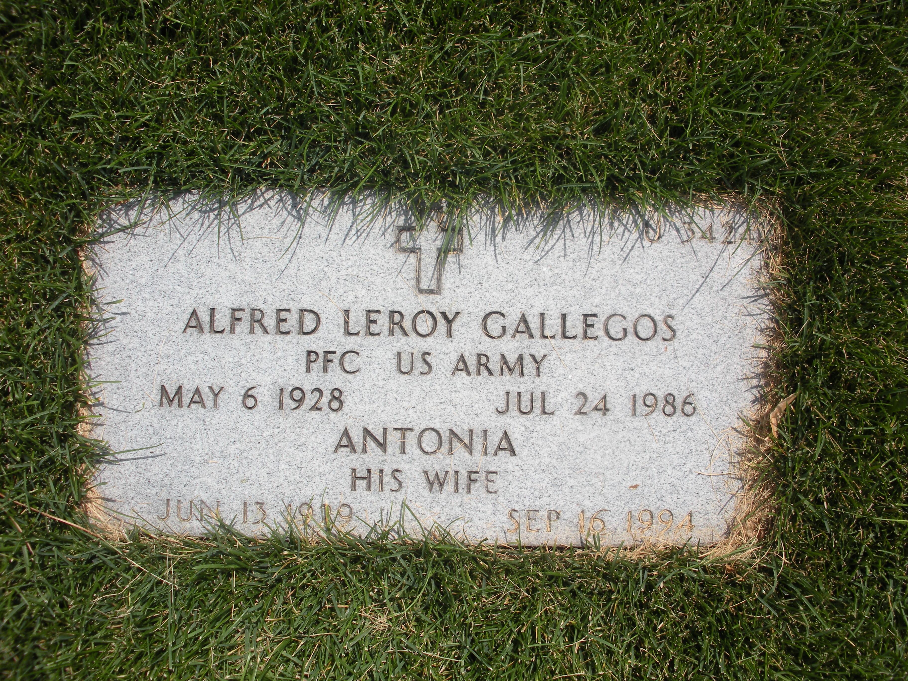 Alfred Leroy Gallegos