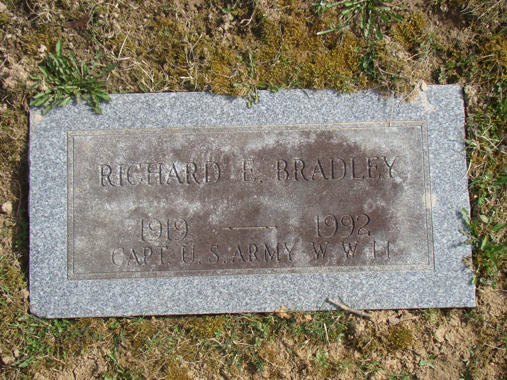 Richard E Bradley