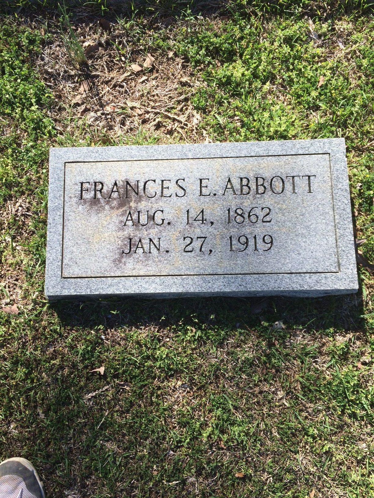 Francis E. Fannie <i>Treadwell</i> Abbott