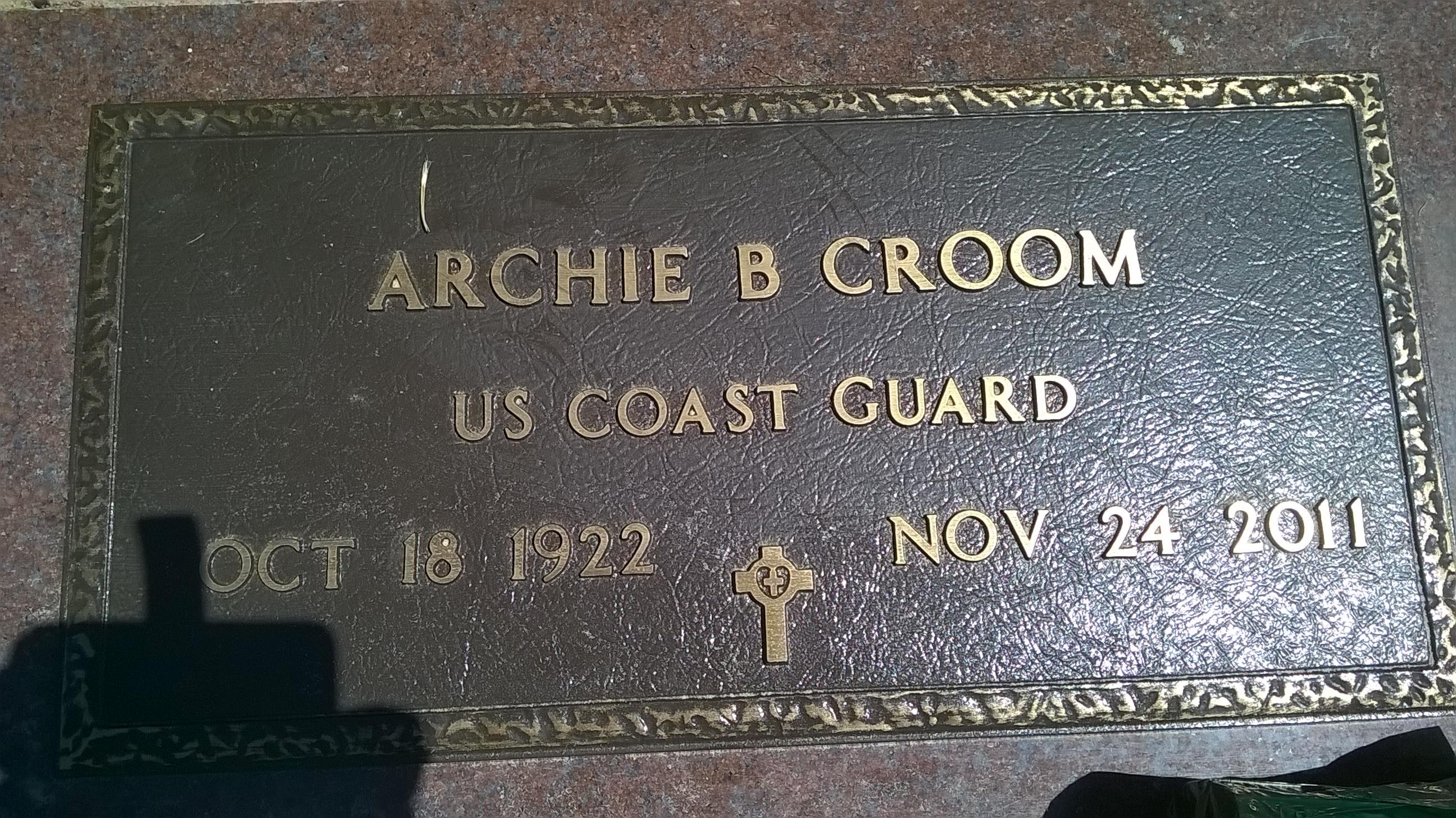 Capt Archie Birmingham Croom Find A Grave Memorial