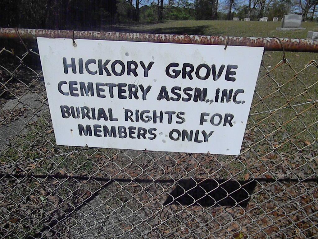 Hickory Grove Baptist Church Cemetery
