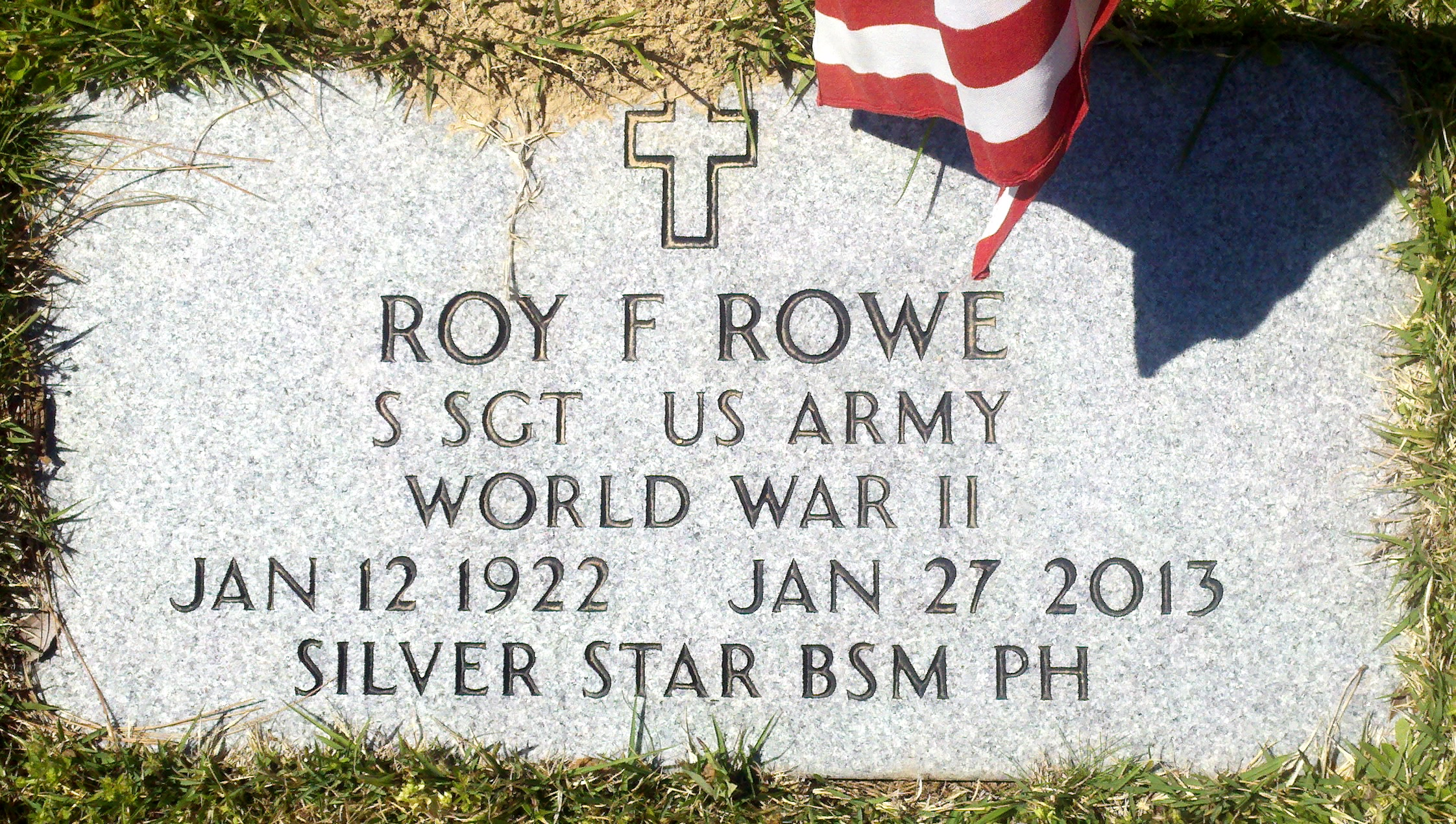 Roy F. Rowe (1922-2013) - Find A Grave Memorial