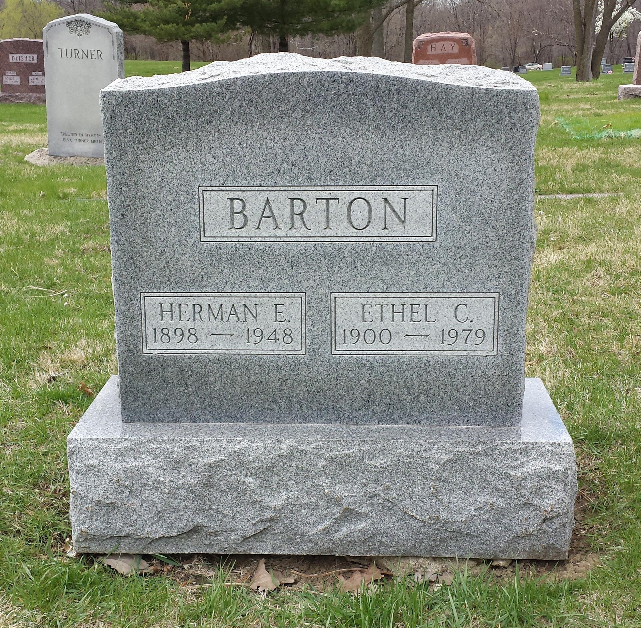 Herman E Barton