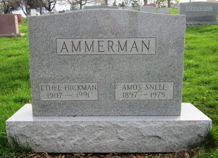 Ethel May <i>Hickman</i> Ammerman