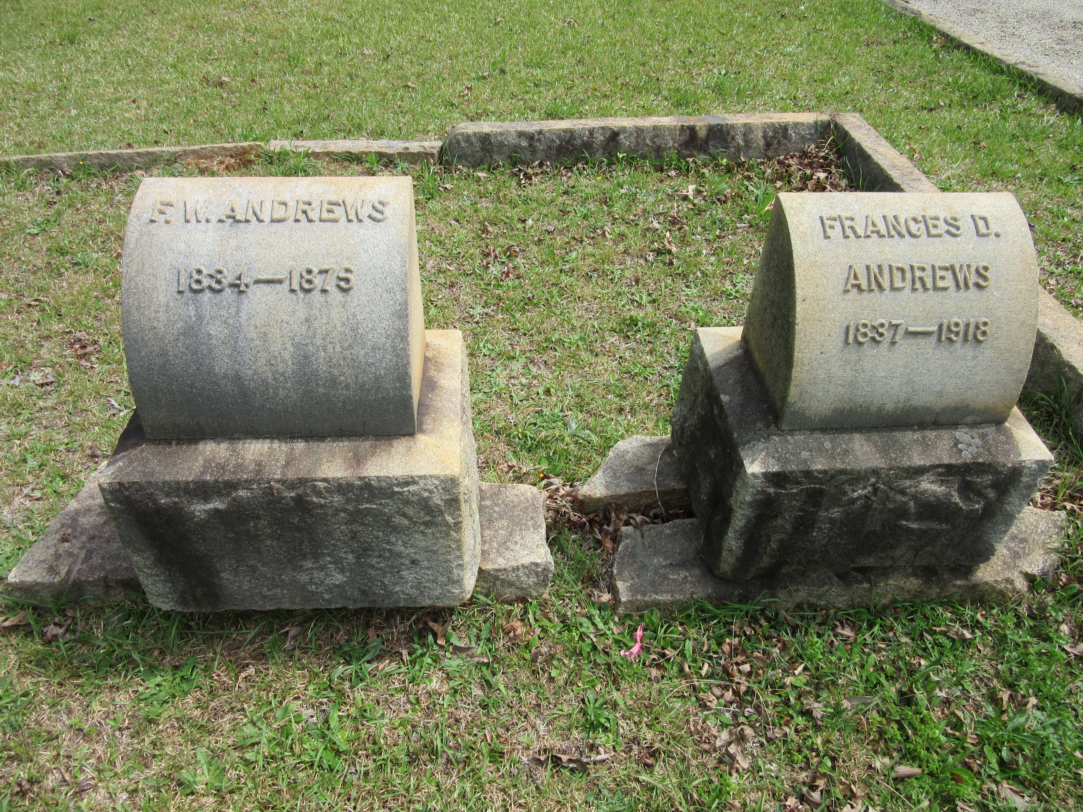 Frances Joyce <i>DeVore</i> Andrews