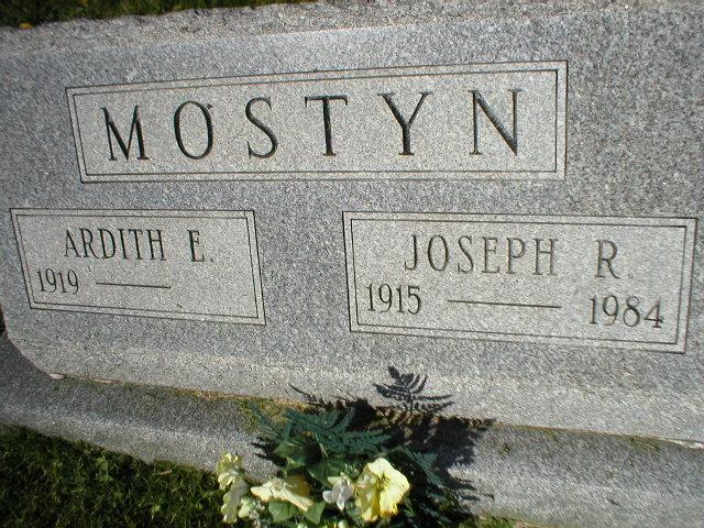 Ardith E <i>Pendleton</i> Mostyn