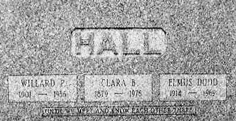 Elmus Dodd Hall