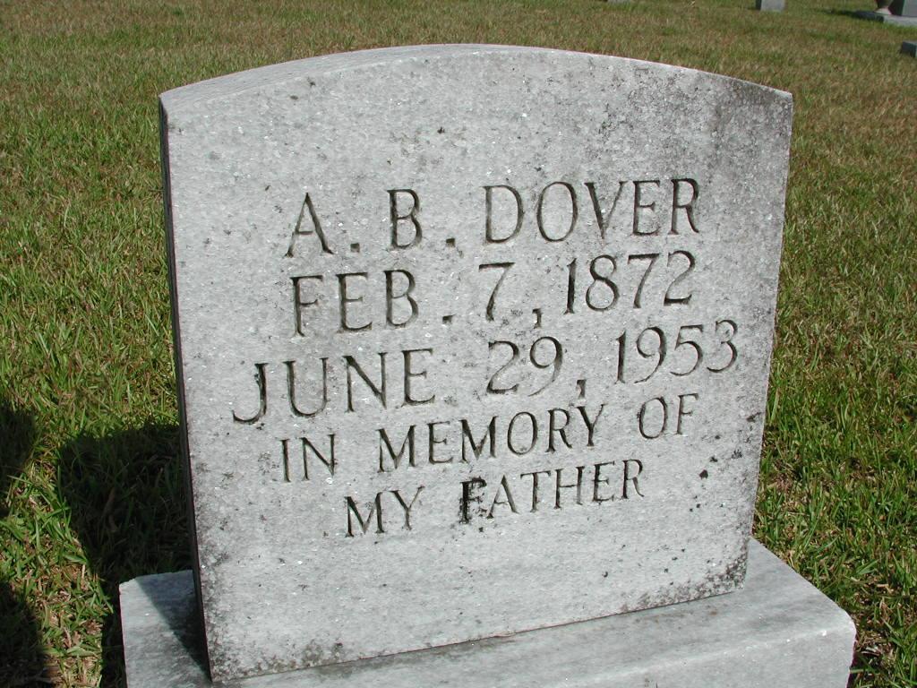 Albert Benjamin Dover