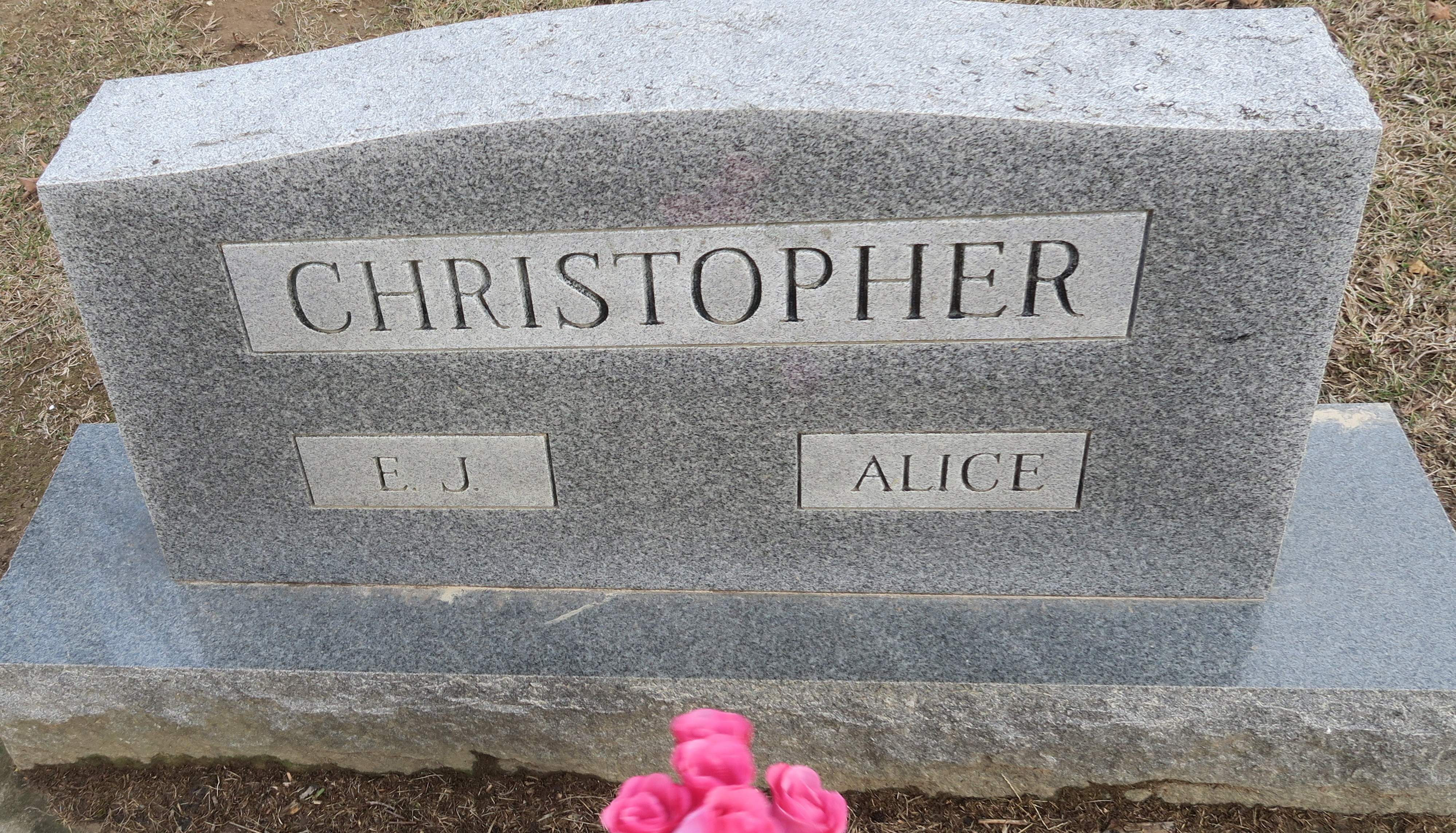 Alice O. <i>Ottwell</i> Christopher