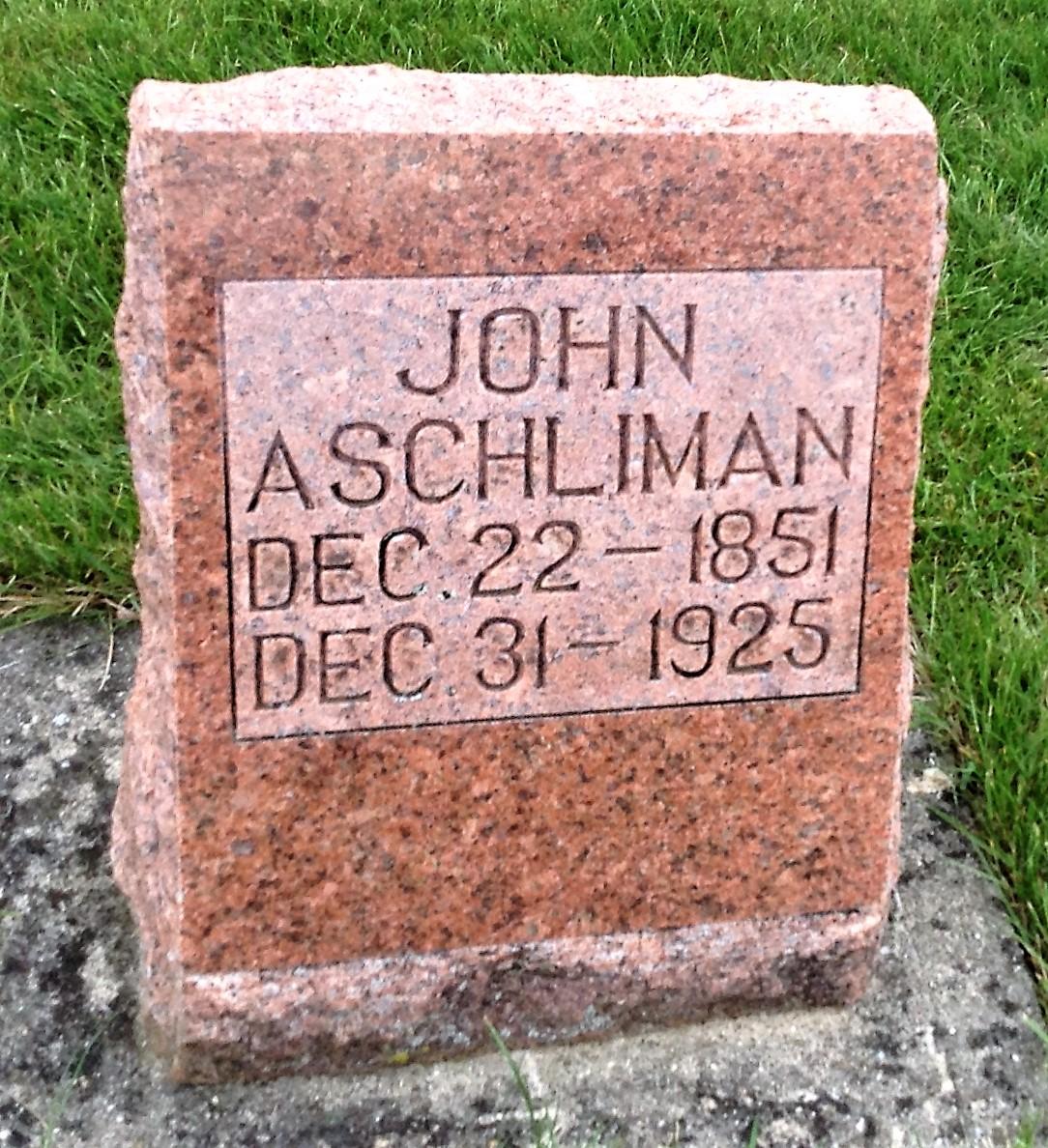 John Aschliman