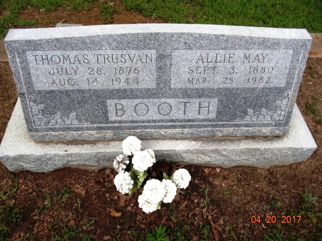 Allie May <i>Williams</i> Booth