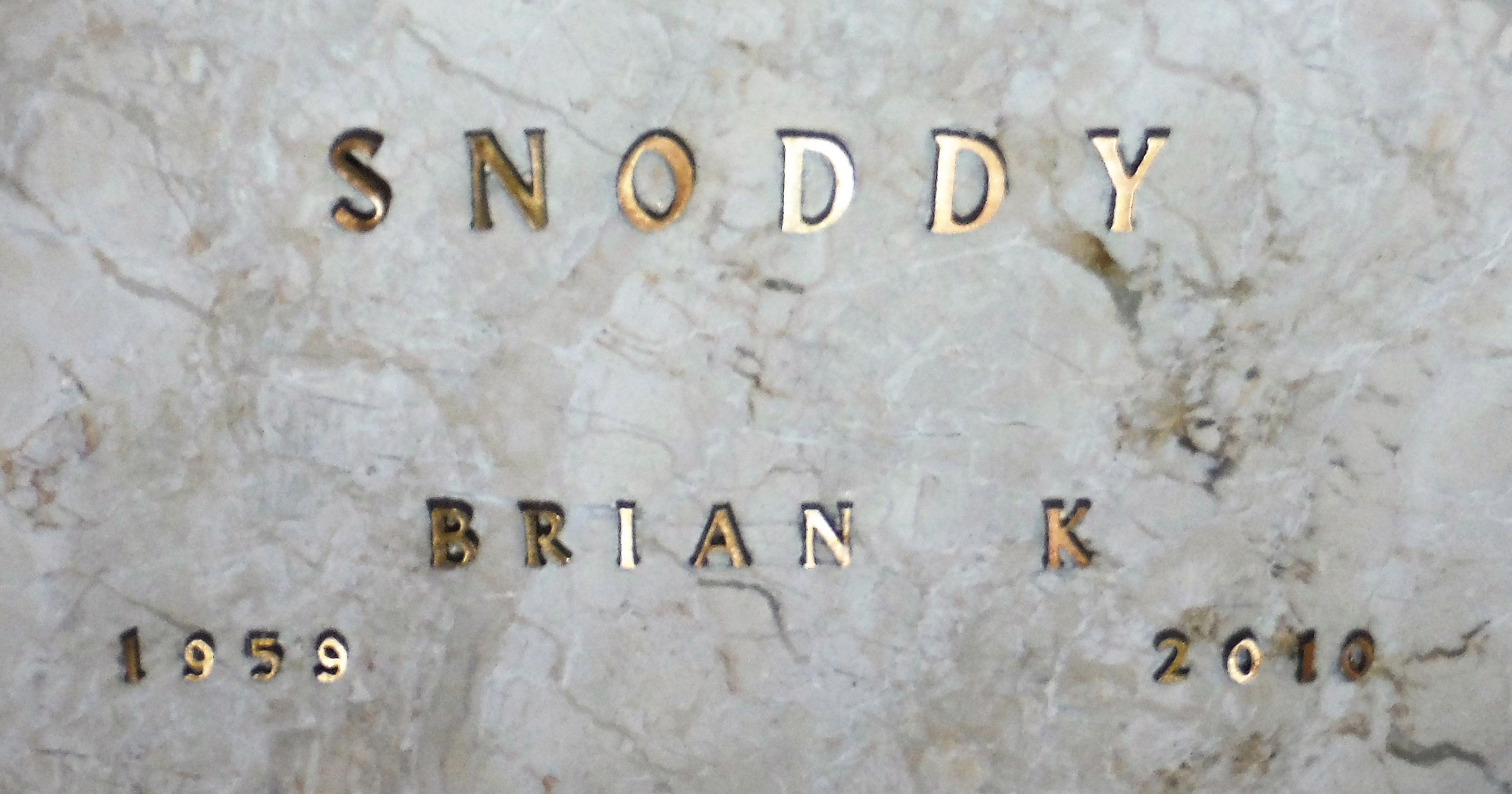 Brian k snoddy 1959 2010 find a grave memorial view original aiddatafo Choice Image